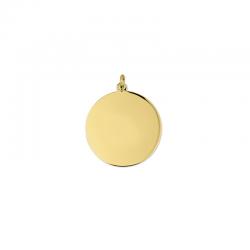 M00041 - Colgante Luna dorado