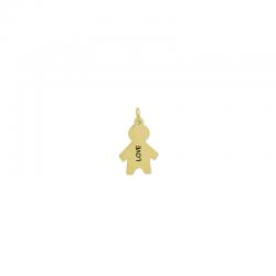 M00092 - Colgante Niño dorado